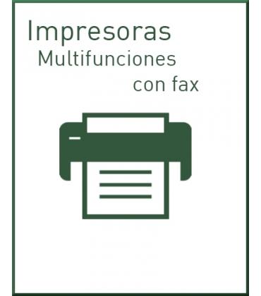 Multifunciones tinta con fax